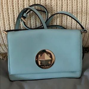 Kate Spade Blue Adjustable Crossbody ♠️